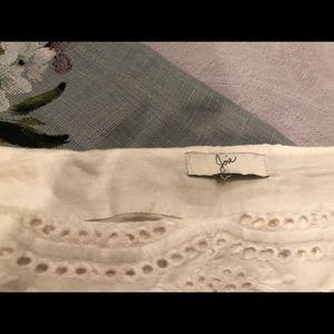 joie eyelet skirt